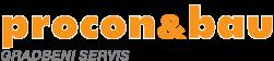 Procon&bau gradbeni servis - logo